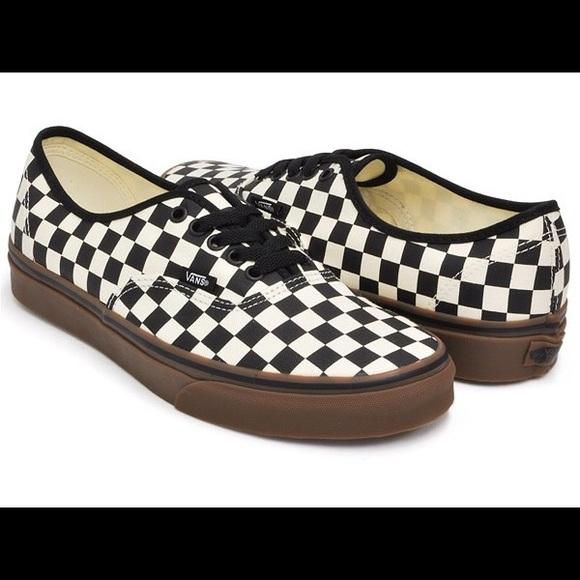 Vans Shoes   Checker Gumsole Vans